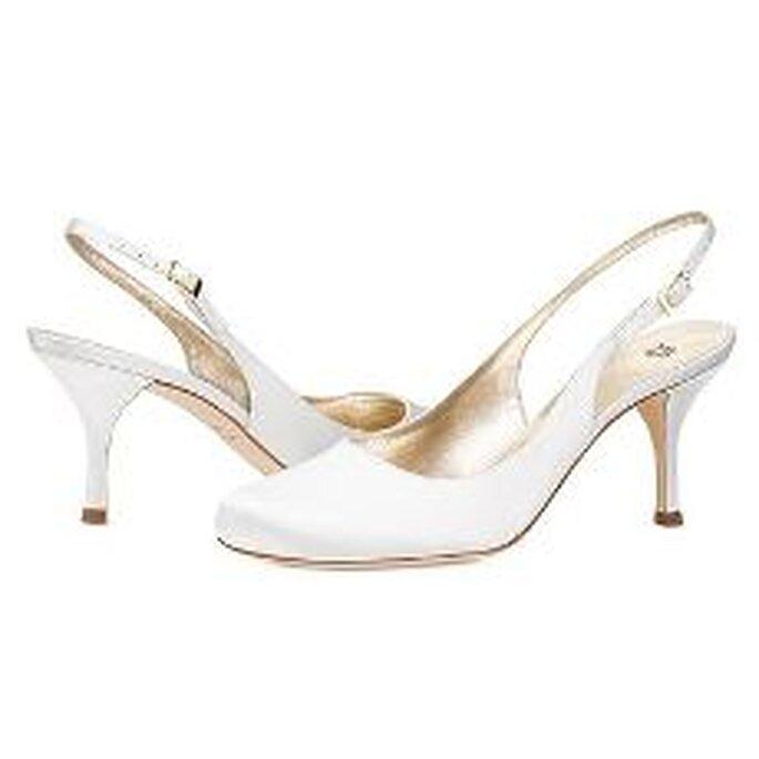 Vera Wang 2010 - Zapatos en satén blanco