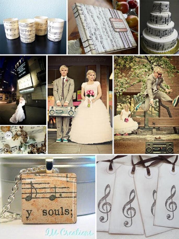 Um casamento estilo vintage - fotografia de  www.brindamos.com