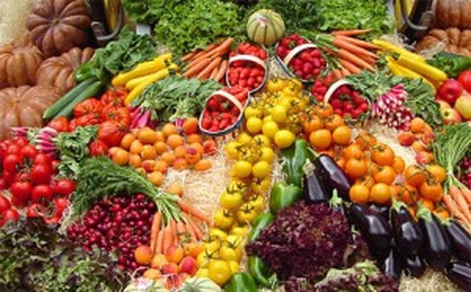Comida aptas para personas vegetarianas