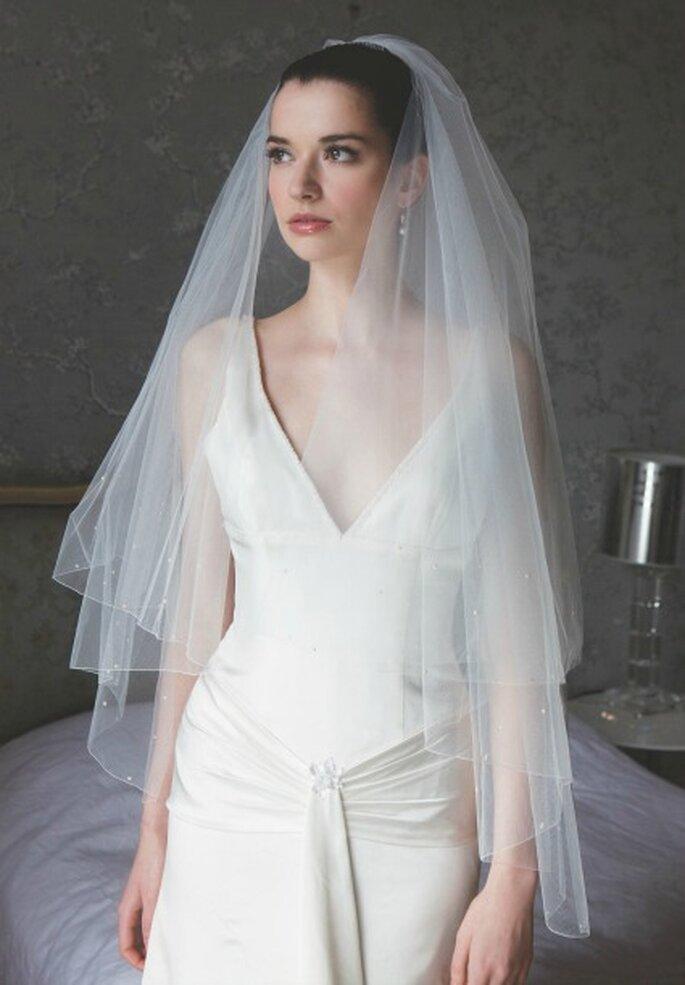 Voile de mariée Sabine, Instant Précieux - Photo : Instant Précieux