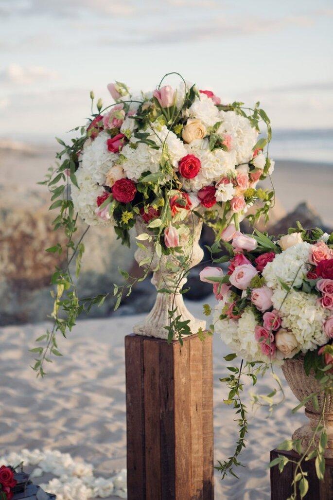 Montajes perfectos para una boda en la playa - Foto Joshua Aull Photography