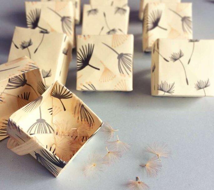 Caixinha surpresa personalizada por Mimos da Nicky Atelier – Foto: Divulgação