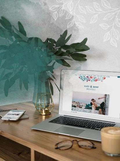 Crea il sito web gratuito delle tue nozze in 1 click