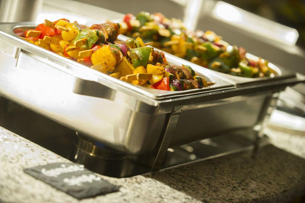 Beispiel: Catering, Foto: Gestrandet Indoor Beachclub Augsburg.