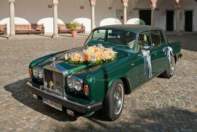 Beispiel: Ihr Hochzeitsauto - ein Rolls Royce, Foto: Oldtimer Paradies.