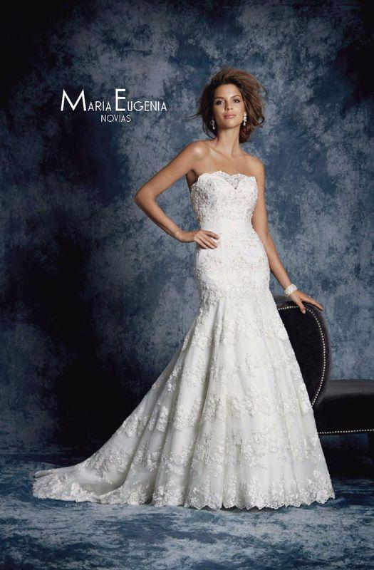 Vestido 896 Coleccion Sapphiro de Alfred Angelo En Maria Eugenia