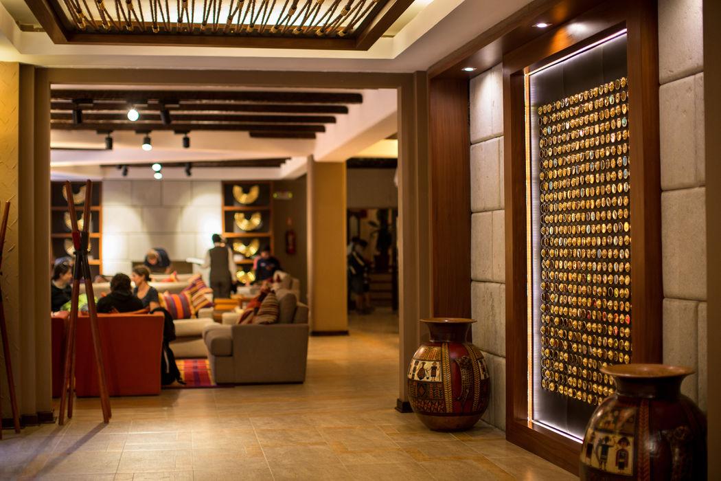 Primer nivel del hotel Sumaq Machu Picchu Hotel.