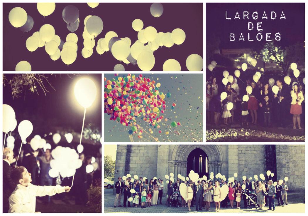 Largada de Balões (Normais e Luminosos)