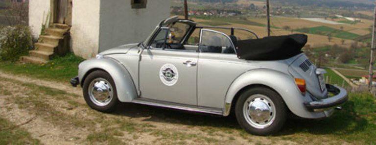 Beispiel: Volkswagen 1303 Cabriolet, Foto: Roadster Reise Träume.