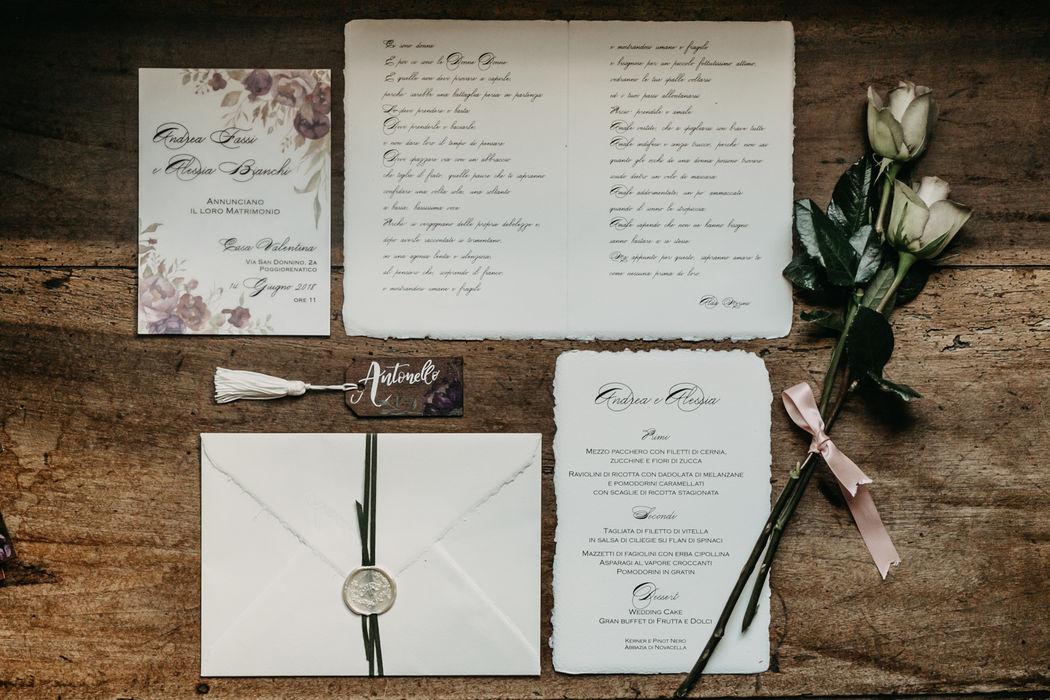 La Wedding in tasca