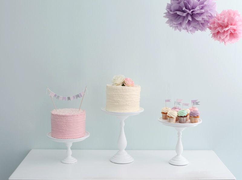 Beispiel: Minicakes und Cupcakes, Foto: Zuckermonarchie.