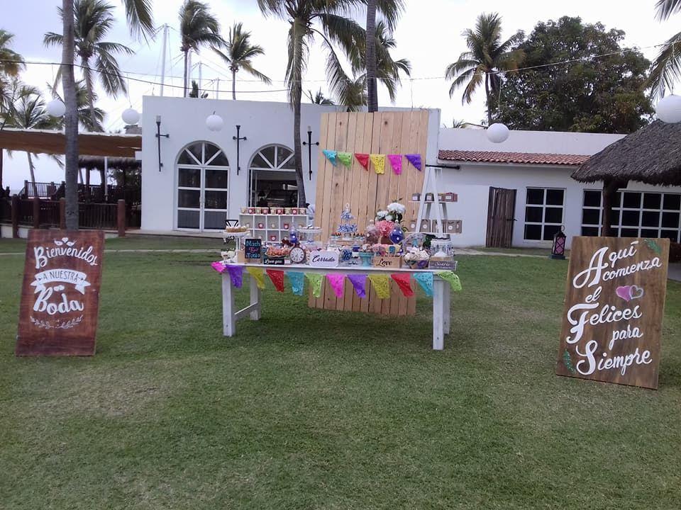 Candy Bar estilo mexicano