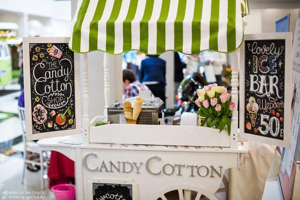 Сладкий кейтеринг Candy Cotton Shop
