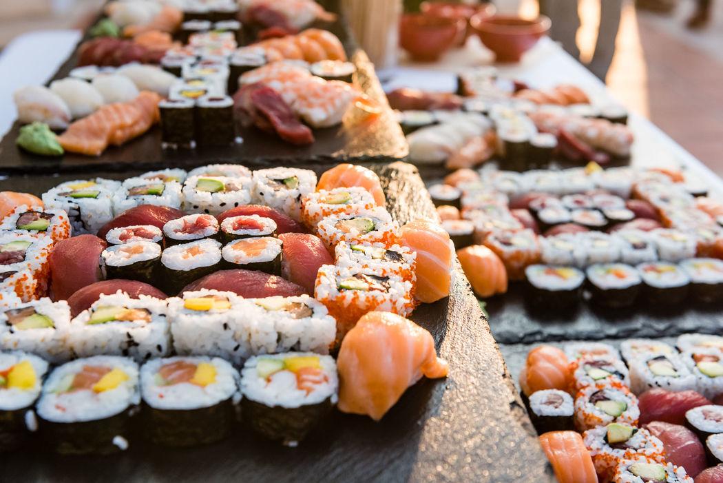 Buffet de sushi