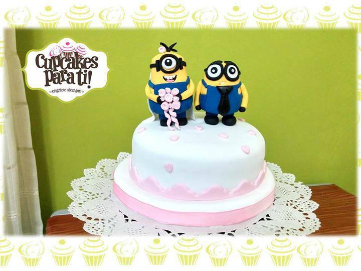 Cupcakes para ti! Tortas temáticas para novios