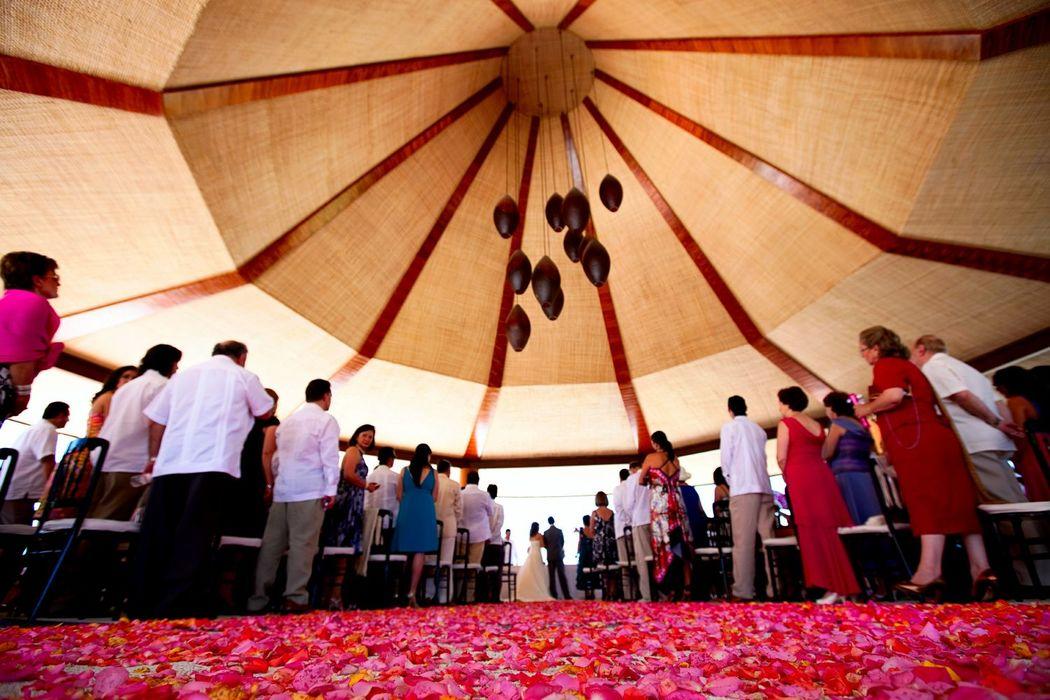 La ceremonia mas bonita que hayas imaginado y con una vista de ensueño