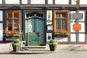 Beispiel: Eingang, Foto: Hoffmannhaus Fallersleben.