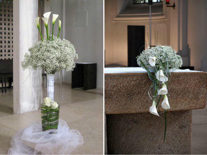 Beispiel: Hochzeitsfloristik, Foto: Deko & Design.