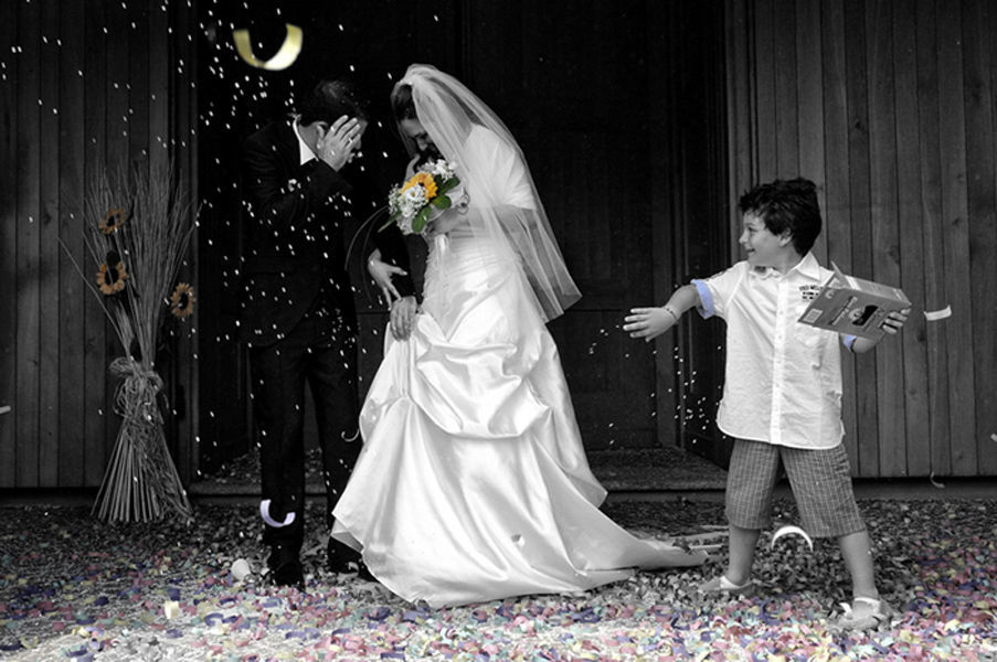 Just Married   - Mario Curti Photographer