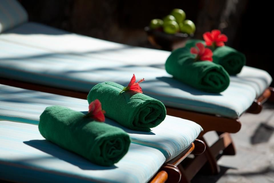 Zona de Spa & Wellness en el Seaside Palm Beach