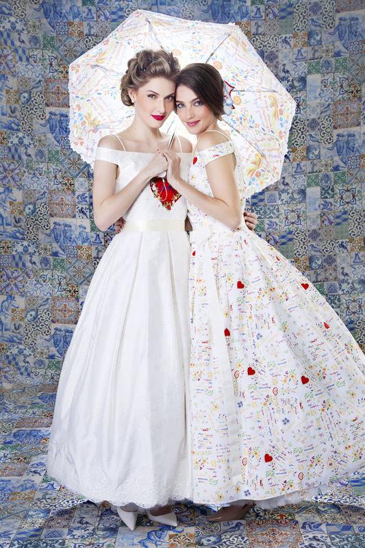 Vestido Escritas de Amor - Dupla Face