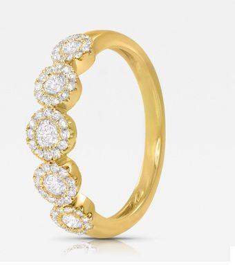 Beispiel: Ehering, Foto: Seventy Seven Diamonds.