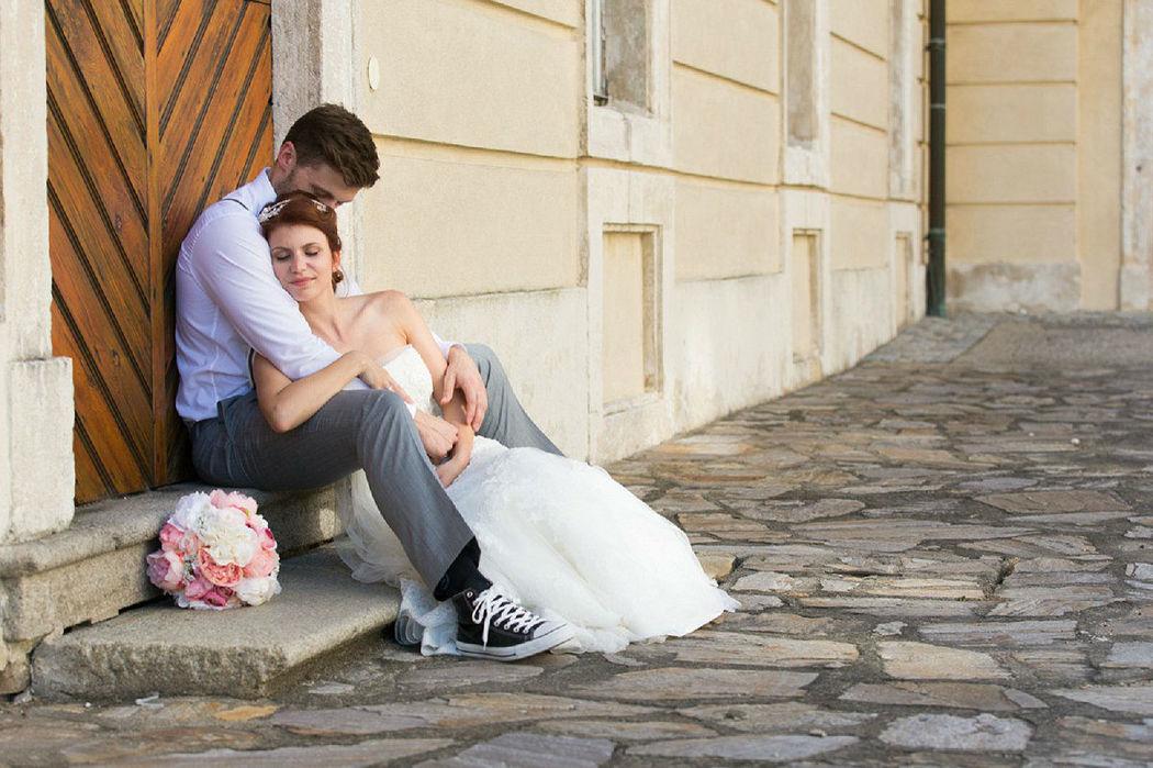 Beispiel: Wunderschöne Hochzeitsfotos, Foto: Dorelies Hofer.