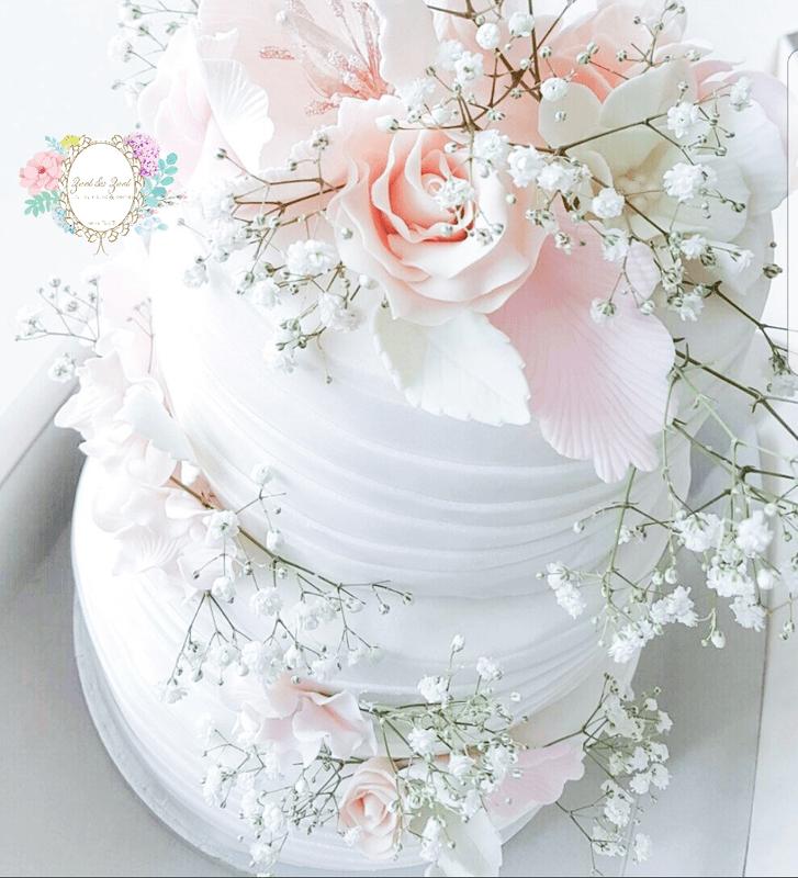 Rustique weddingcake