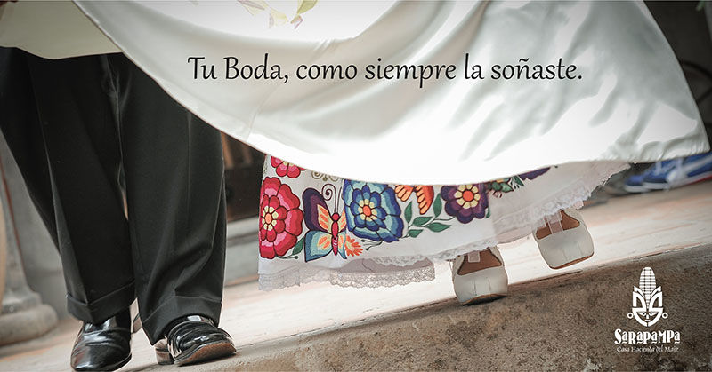 Vestido de novia: bordado a mano