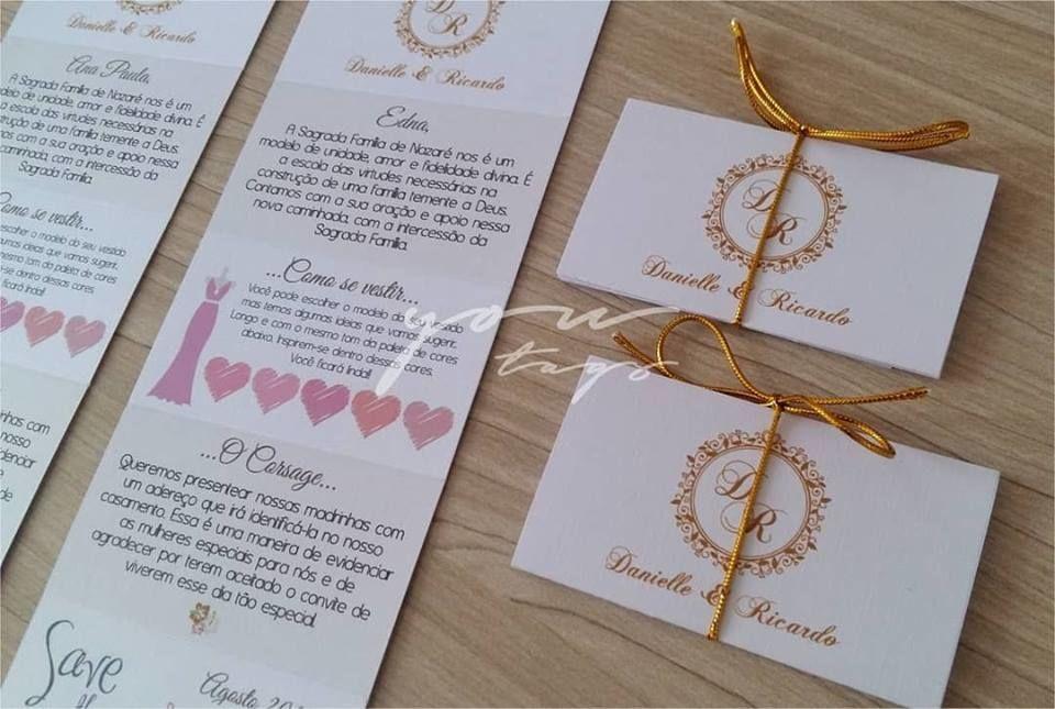 You Tags - Papelaria para Casamento
