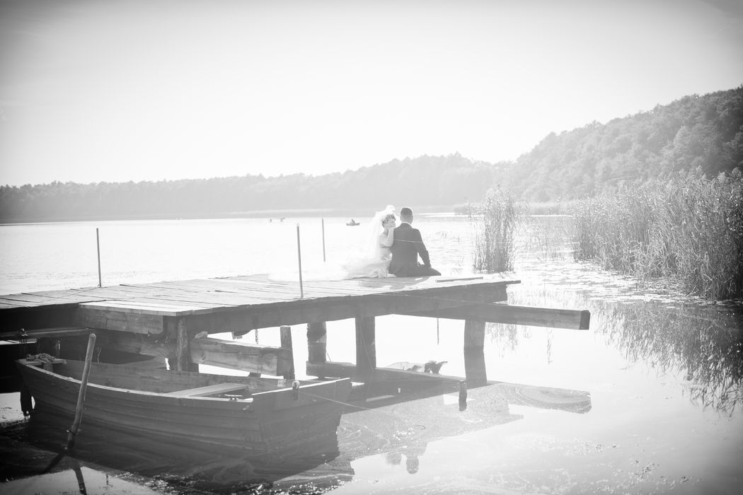 plener nad jeziorem