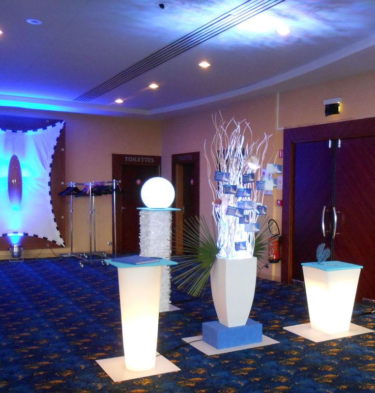 Mariage au Casino de Bordeaux: entrée de salle .