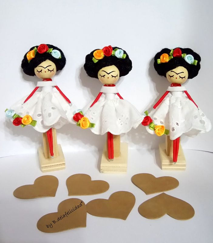 Broches Frida Kahlo