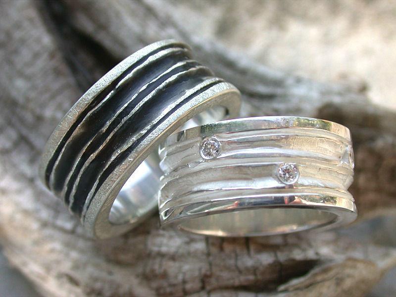 Beispiel: Individuelle Ringkreationen, Foto: Goldschmiede Vicina.