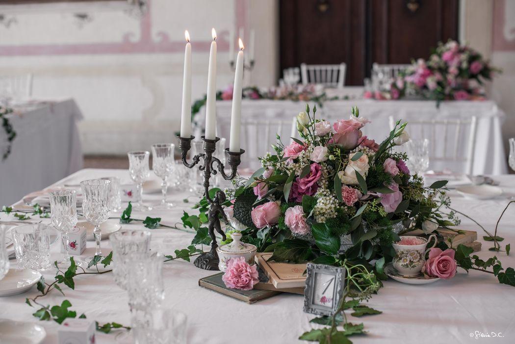 Matrmonio elegante Garden Romance