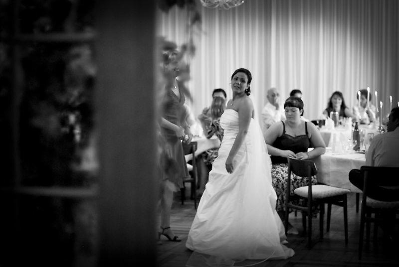 Beispiel: Portrait der Braut, Foto: Vision2Pixel.