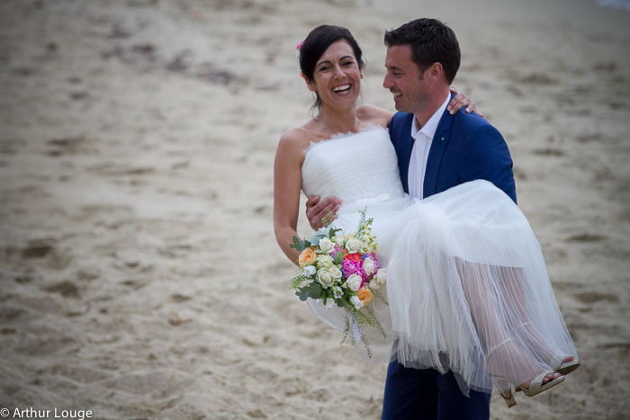 Mariage Julie et Bertrand - Fleurs Catherine Meyjonade  -  Crédit photo Arthur Louge