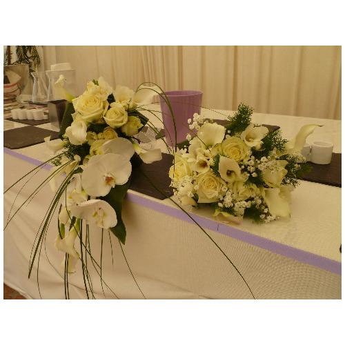 Décoration florale buffet - Magie de l'Ephémère