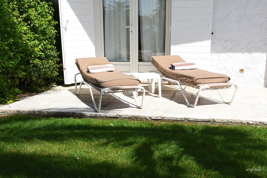 Jardin privé - chambre