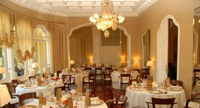 Restaurante de la Torre del Remei. Salón Principal.
