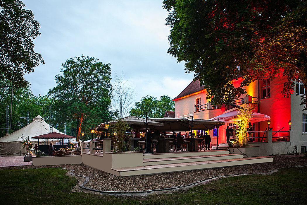 Beispiel: Villenpark, Foto: Villa Rheinperle.