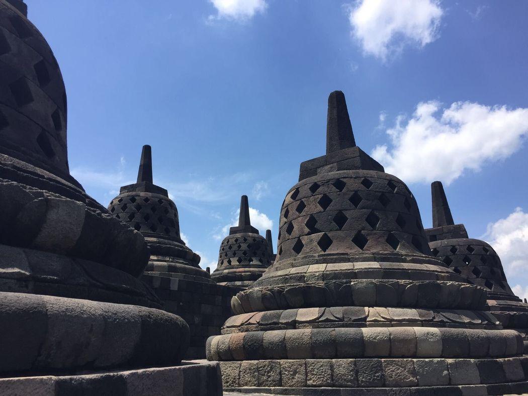 Borobudur de cerca