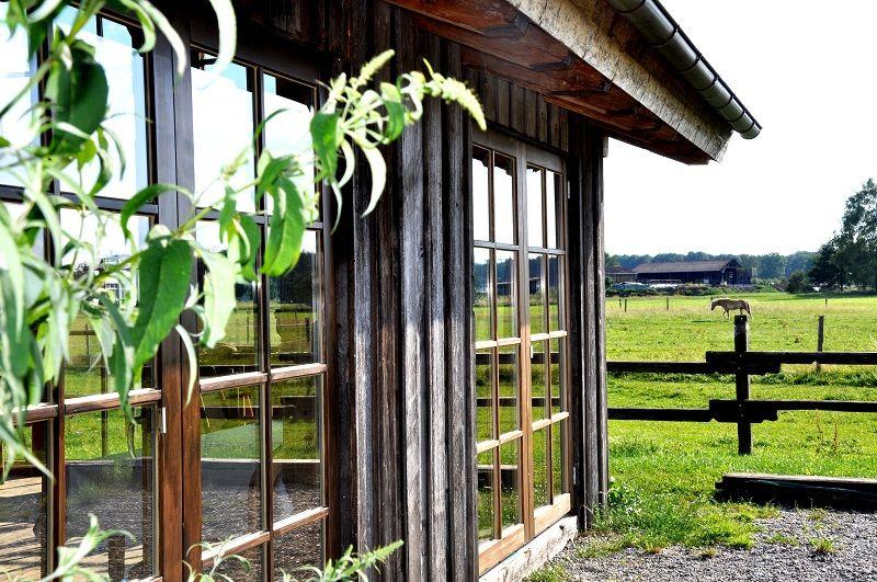 Beispiel: Pavillon Aussenansicht, Foto: Landgasthof Lenderstuben.