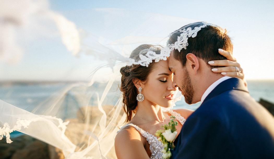 Свадьба в Португалии от Dream Weddings Europe - фотосессия на берегу Атлантического океана