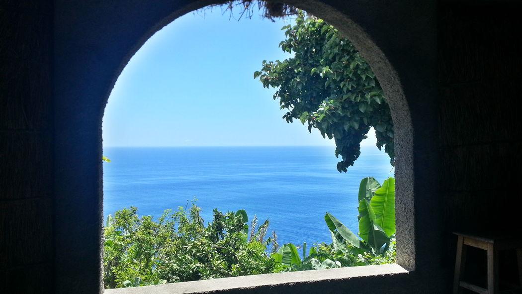 Vista da Cabana