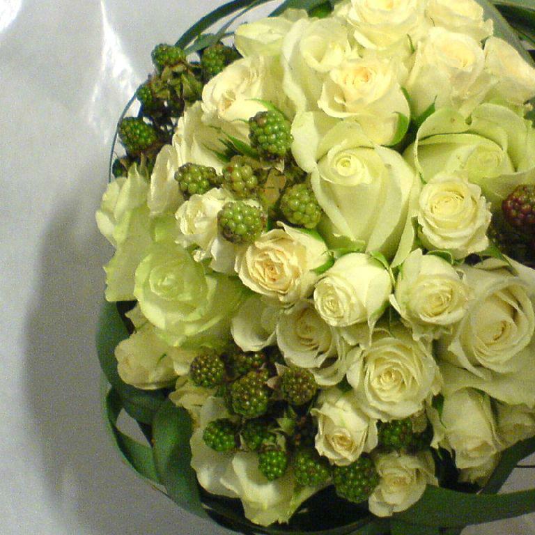 Beispiel: Einmalige Brautsträuße, Foto: Florastyle.