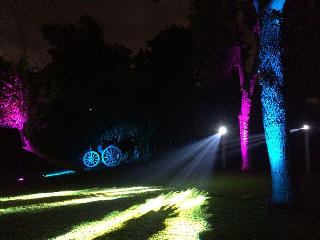 Iluminación arquitectónoica en Puebla