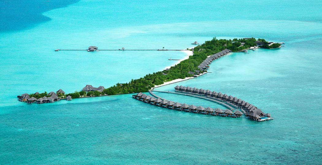 Panorámica Maldivas