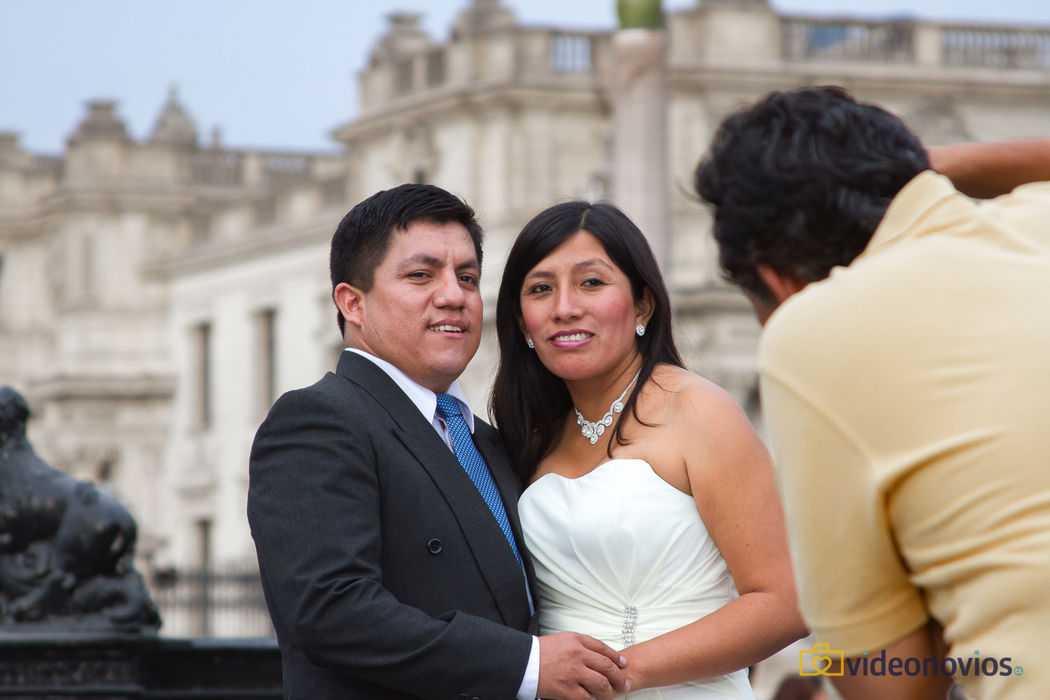 Plaza de Lima  - Sesión novios
