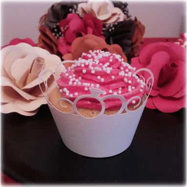 Envoltorio para cupcakes modelo Ring